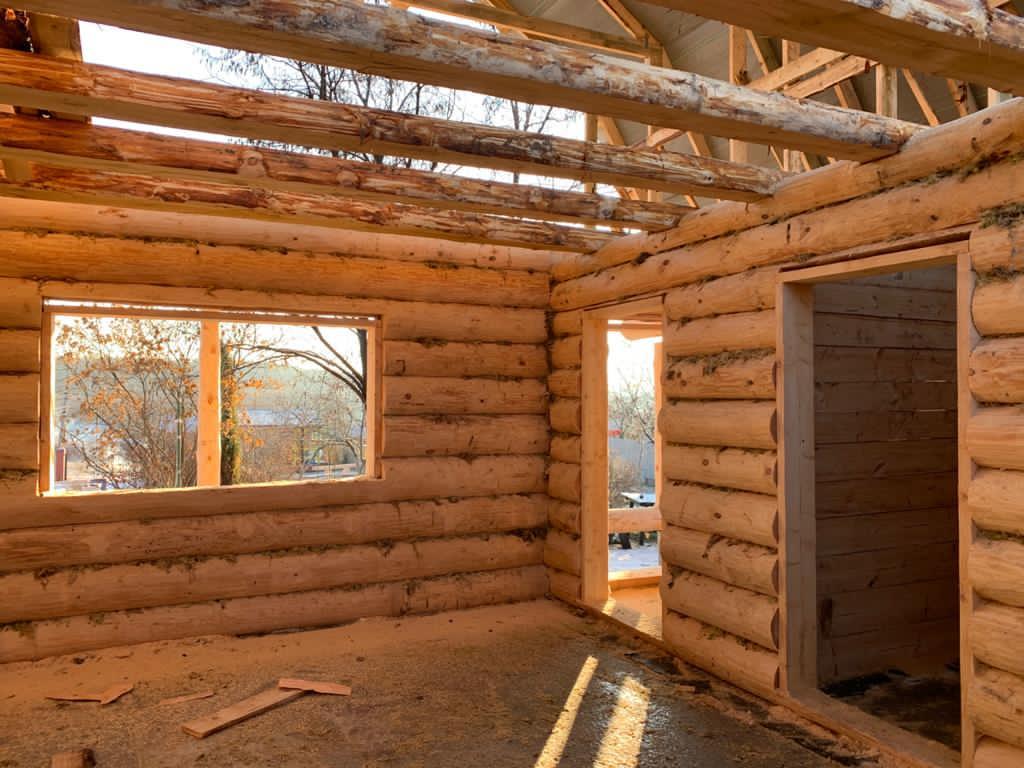 Дом 6 на 8 с террасой 2,5 метра